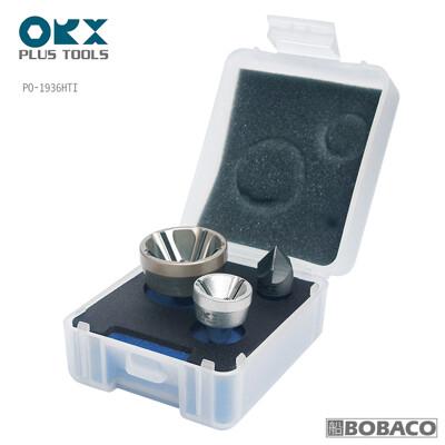 台灣製ORX【內外倒角器套裝組 / PO-1936HTI】盒裝三件組 含螺絲倒角器大小各1和內倒角器 (7.5折)