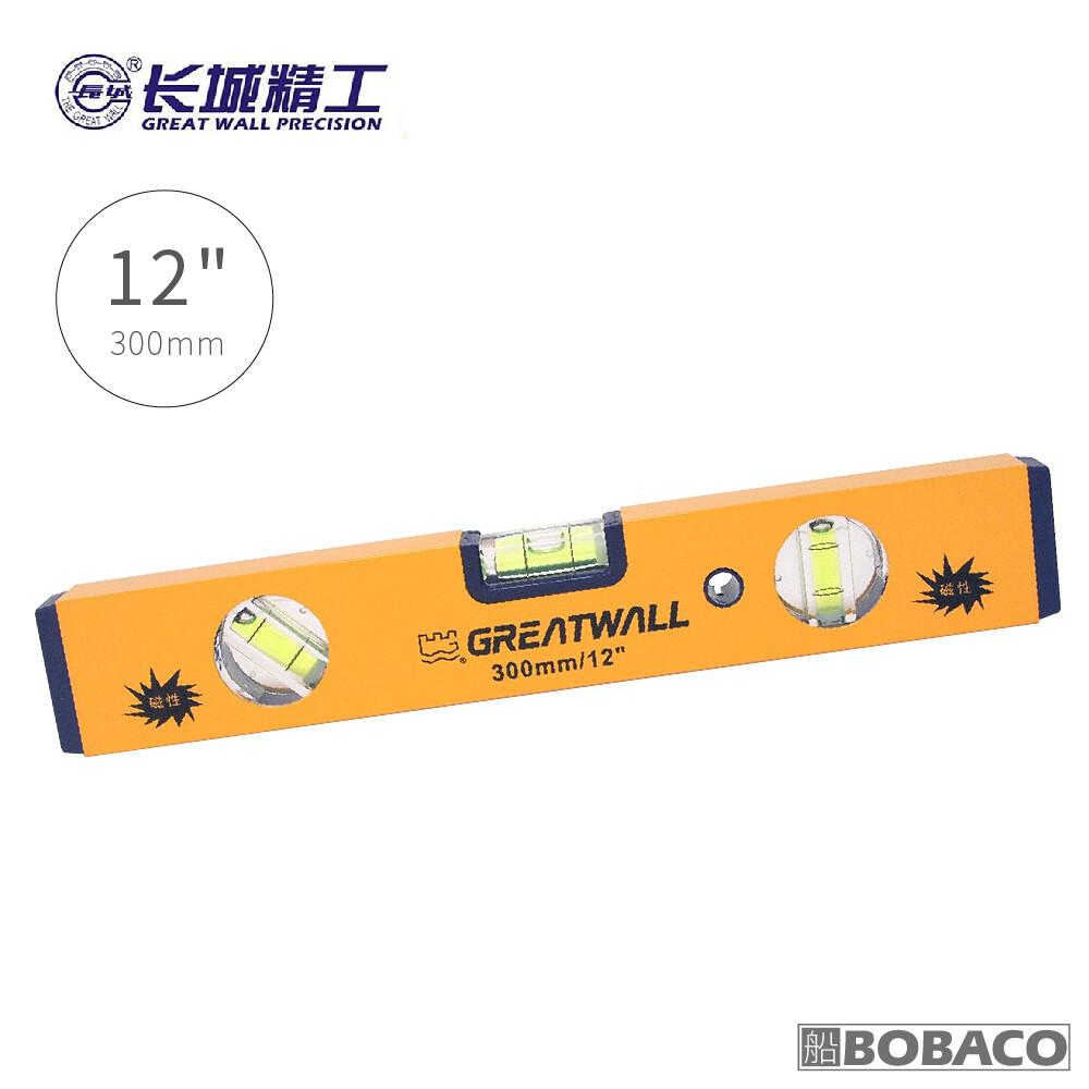 """300mm/12"""" 附磁三泡水平尺裝修精密測量工具 水平儀"""