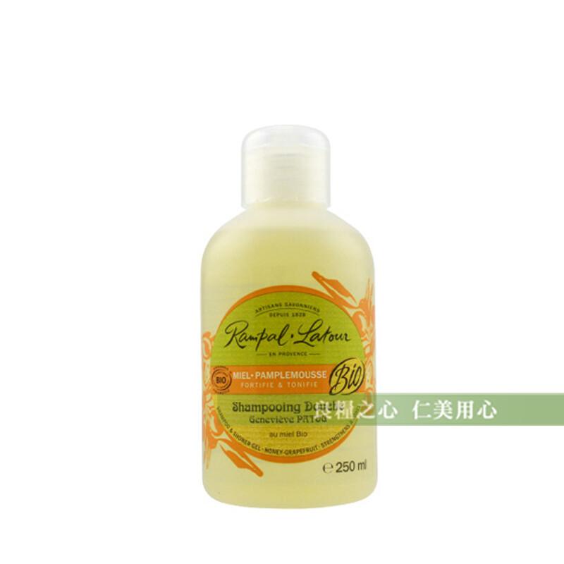 南法歐巴拉朵 2in1蜂蜜葡萄柚洗髮沐浴精(250ml/瓶)_附提袋