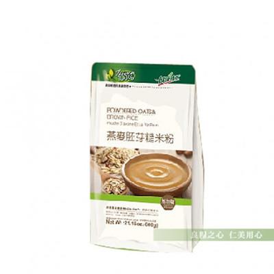 健康時代 燕麥胚芽糙米粉(600g/袋) 無糖 (8.4折)