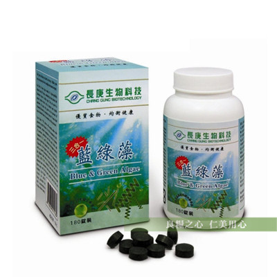 長庚生技 藍綠藻(180粒/瓶) (8.4折)