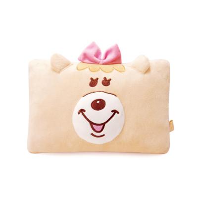 【禾宜精品】正版 WC熊 KUMATAN 女 KANOJYO 臉型 抱枕 午睡枕 絨毛玩偶 (3.5折)