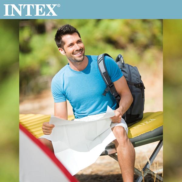 限時優惠intex單人輕量充氣床墊(露營睡墊)-寬76cm(68708)