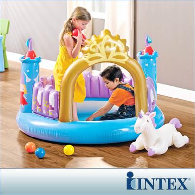 【INTEX】公主城堡遊戲球池 LC167(48669) (7折)