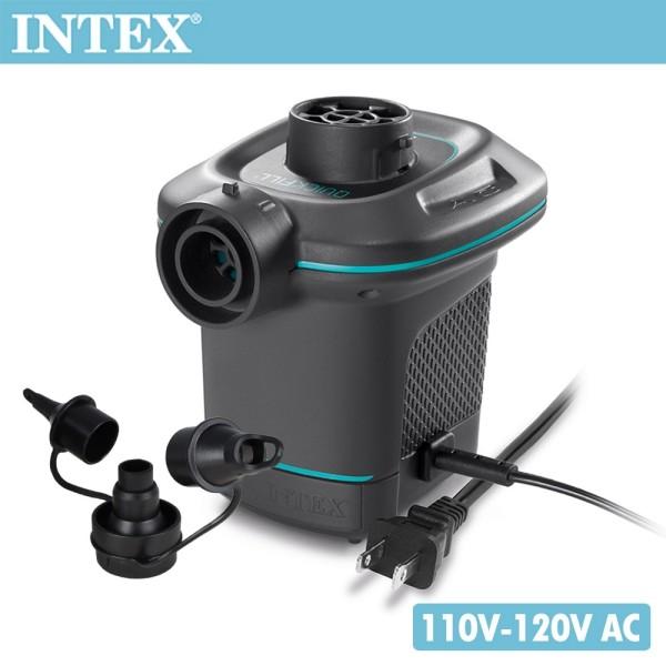 intex110v家用電動充氣幫浦(充洩二用)(66639)
