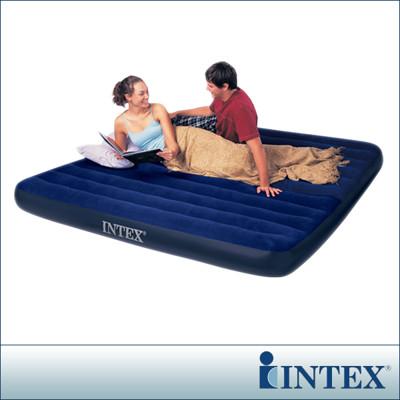 3月份限時優惠↘【INTEX】雙人超大型植絨充氣床墊(寬183CM) (68755) (6.1折)