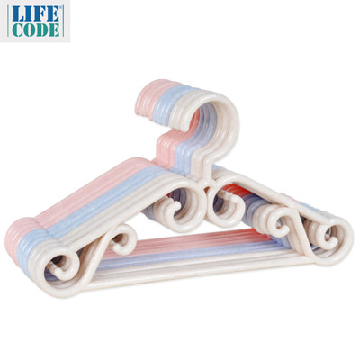 【LIFECODE】兒童音符衣架 - 3色隨機出貨 LC675 (0.2折)