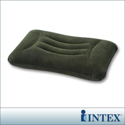 【INTEX】多用途《人體工學》植絨充氣枕/護腰枕 (68670) (7折)