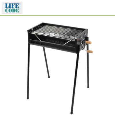 出清促銷↘【LIFECODE】立式烤肉架-烤網可調高度-寬65cm - LC633 (6折)