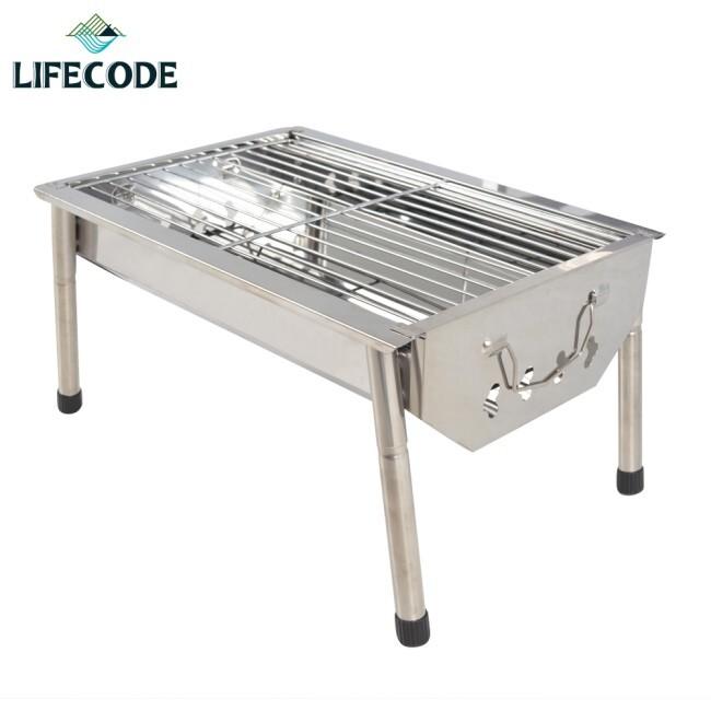 lifecode不鏽鋼小型烤肉架(可搭配燒烤桌使用)