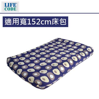 【LIFECODE】INTEX充氣床專用雙層包覆式床包-適用寬152cm充氣床LC151-152 (7折)