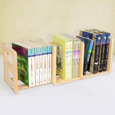【LIFECODE】極簡風-松木桌上型伸縮書架 (7.1折)