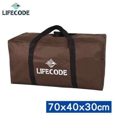 【LIFECODE】野營裝備袋70x40x30cm (L號)-(咖啡色) (7折)