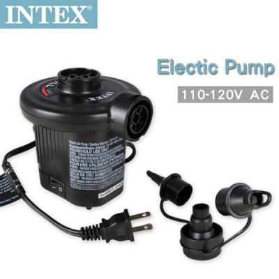 【INTEX】110V家用電動充氣幫浦(充洩二用) (66619E) (6.9折)