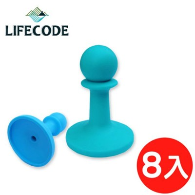 【LIFECODE】小騎兵多彩營柱防雷帽-8入(顏色隨機) (7折)
