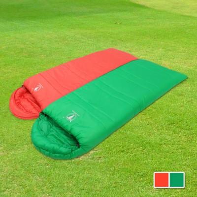 【APC】馬卡龍秋冬可拼接全開式睡袋-紅配綠 2色可選 (3.5折)