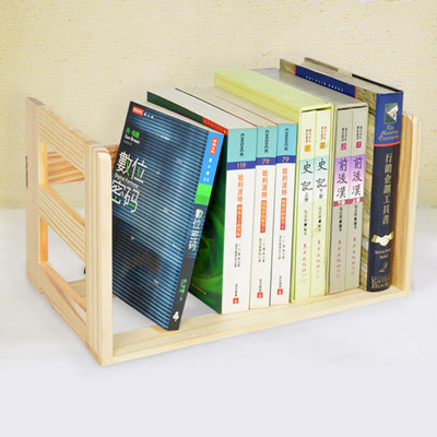 【LIFECODE】極簡風松木桌上型簡易書架 LC114A (7.1折)