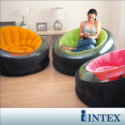 INTEX《星球椅》充氣沙發椅-3色隨機出貨 LC272(68582) /單人座沙發/懶骨頭 (7折)