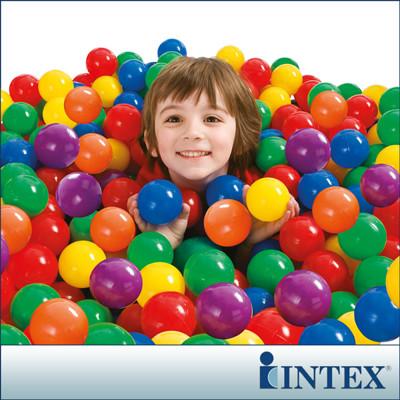 【INTEX】100顆遊戲球-直徑6.5cm (49602) (6.8折)