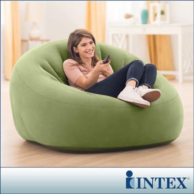 【INTEX】超大星球椅-充氣沙發椅(68576)+LIFECODE 110V家用幫浦 (7.4折)