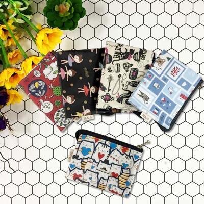 三層零錢包 台灣製 夾層 防水收納包 防水袋 零錢包 旅行收納袋 (9.1折)