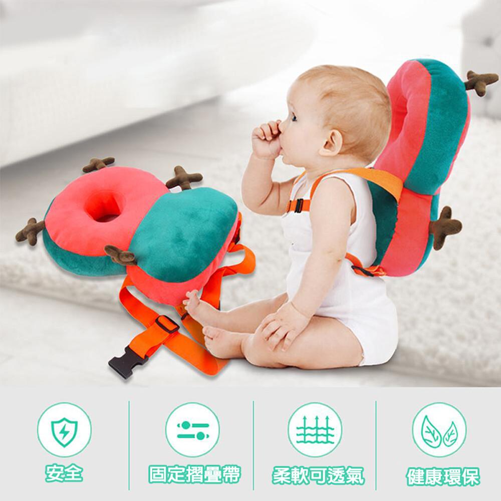 gct玩具嚴選168-4嬰兒防摔枕 可愛舒適保護寶寶