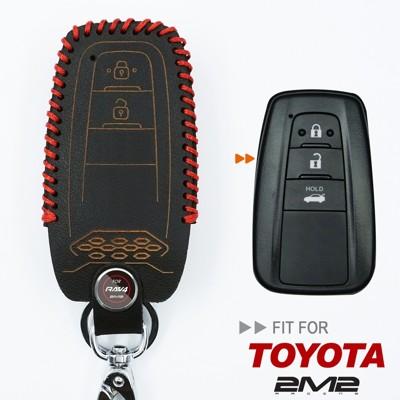2m22019 全新第五代 toyota rav4 hybrid 汽油版豐田汽車 晶片 鑰匙 皮套 (9.4折)