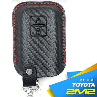 2m2toyota rav4 sienta 豐田汽車 智慧型鑰匙 鑰匙皮套 鑰匙包 鑰匙保護包 無l (9.4折)