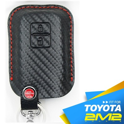 【2M2】TOYOTA RAV4 SIENTA Prius c 豐田汽車 智慧型鑰匙 鑰匙皮套 皮套 (9.8折)