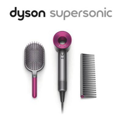 【Dyson台灣公司貨】Dyson Supersonic HD01吹風機 (桃) 附按摩髮梳+順髮梳 (9折)