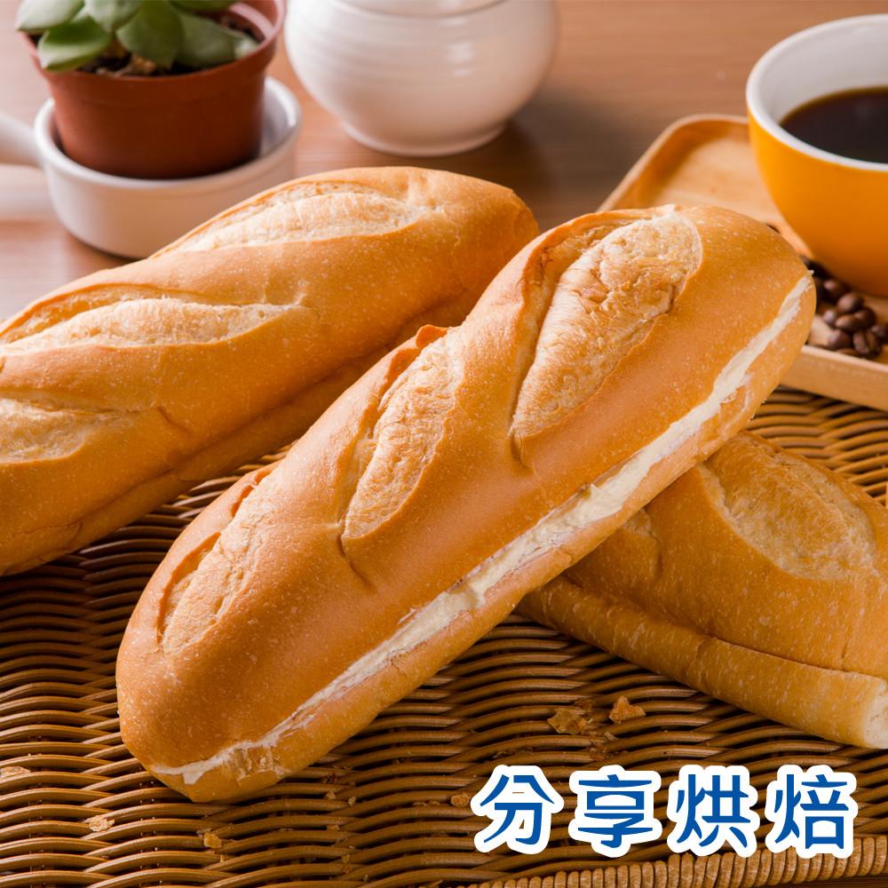 分享烘焙維也那麵包-原味(1入/1條)