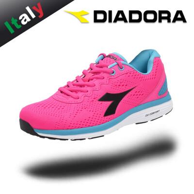 Diadora輕量訓練鞋走路鞋女慢跑鞋SWAN 2系列義大利原廠進口大童171446-C6403 (9.8折)
