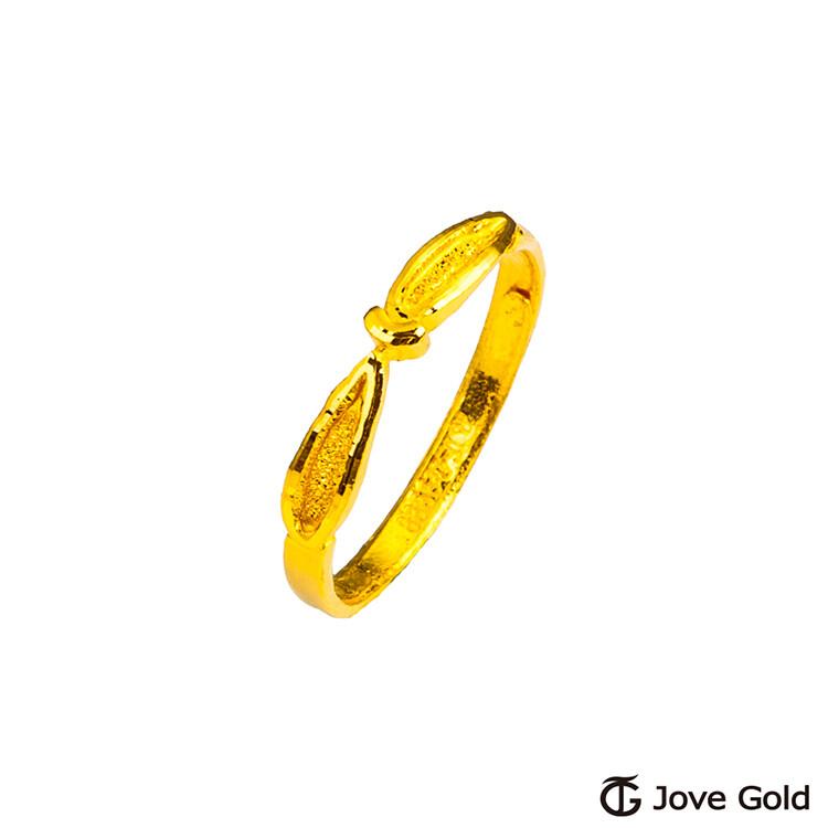 jove gold 漾金飾 跳躍的時空黃金戒指