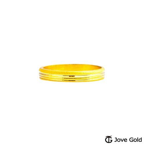 jove gold 漾金飾 時光黃金尾戒現貨+預購