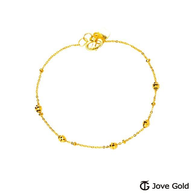 jove gold 漾金飾 靈感黃金手鍊現貨+預購