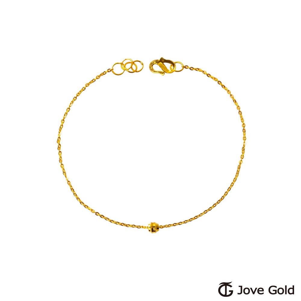jove gold 漾金飾 小焦點黃金手鍊