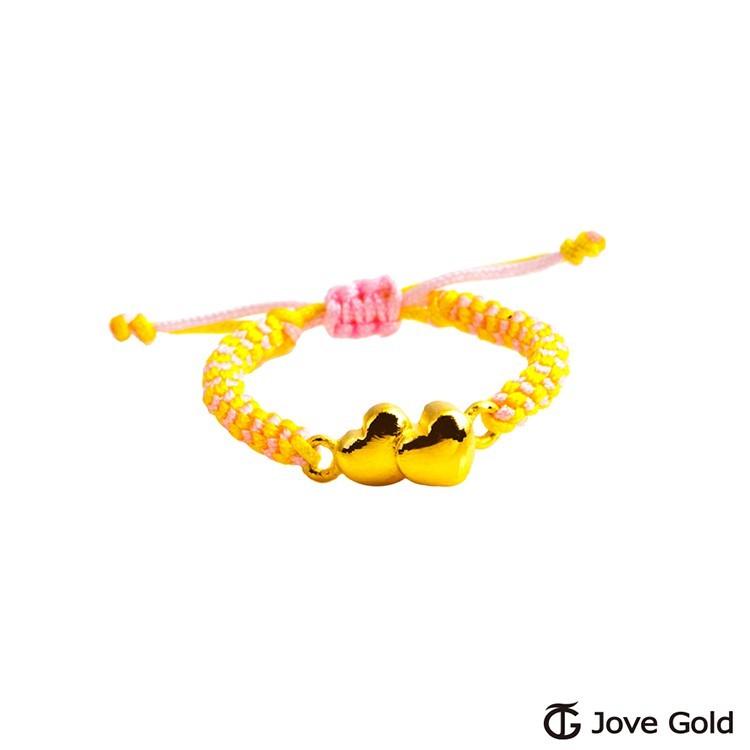 jove gold 見證愛黃金編織繩戒指現貨+預購