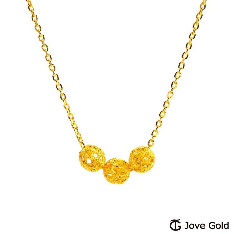 jove gold 漾金飾 三世情緣黃金項鍊-小現貨+預購