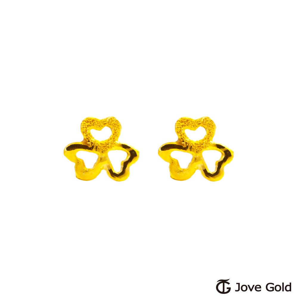 jove gold 漾金飾 美麗祝福黃金耳環