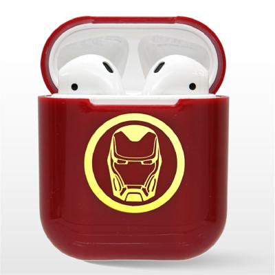 Marvel 復仇者聯盟 AirPods硬式保護套 鋼鐵人 (紅) (8.7折)
