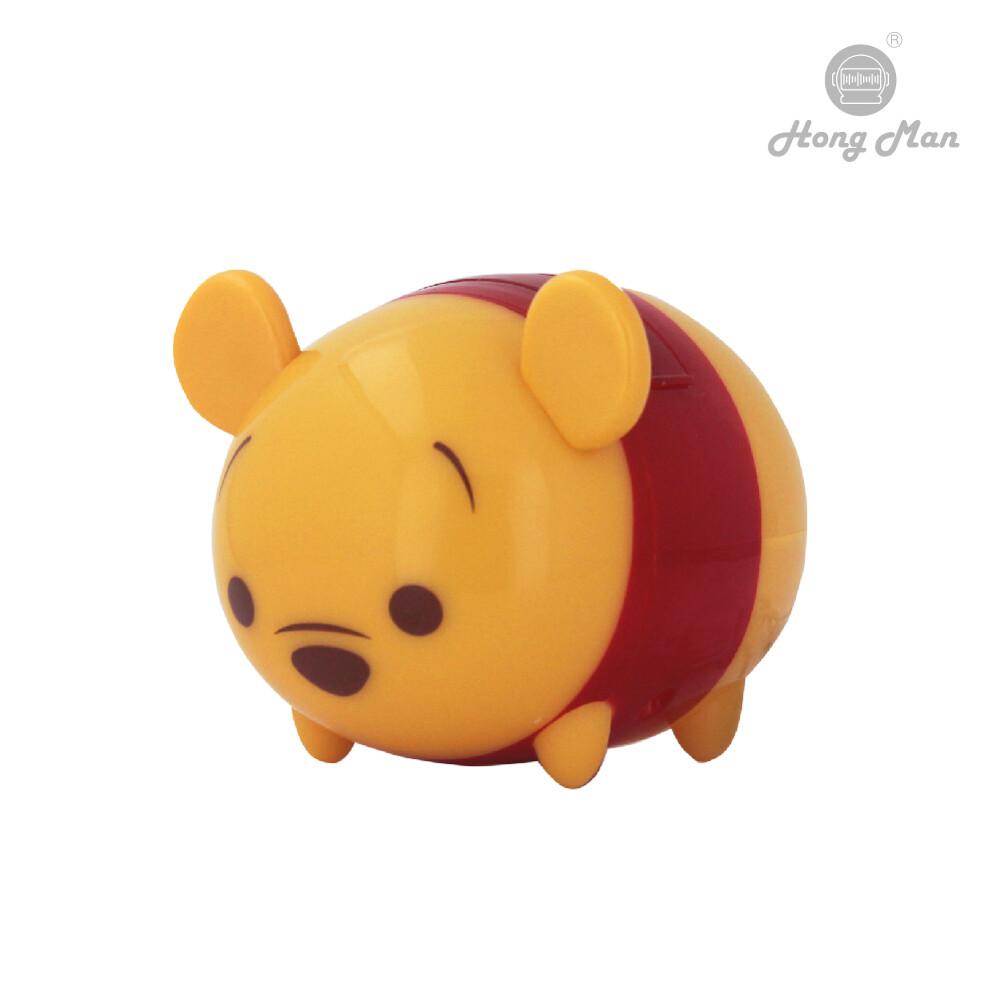 hong man迪士尼系列 tsumtsum立體公仔手機座 小熊維尼