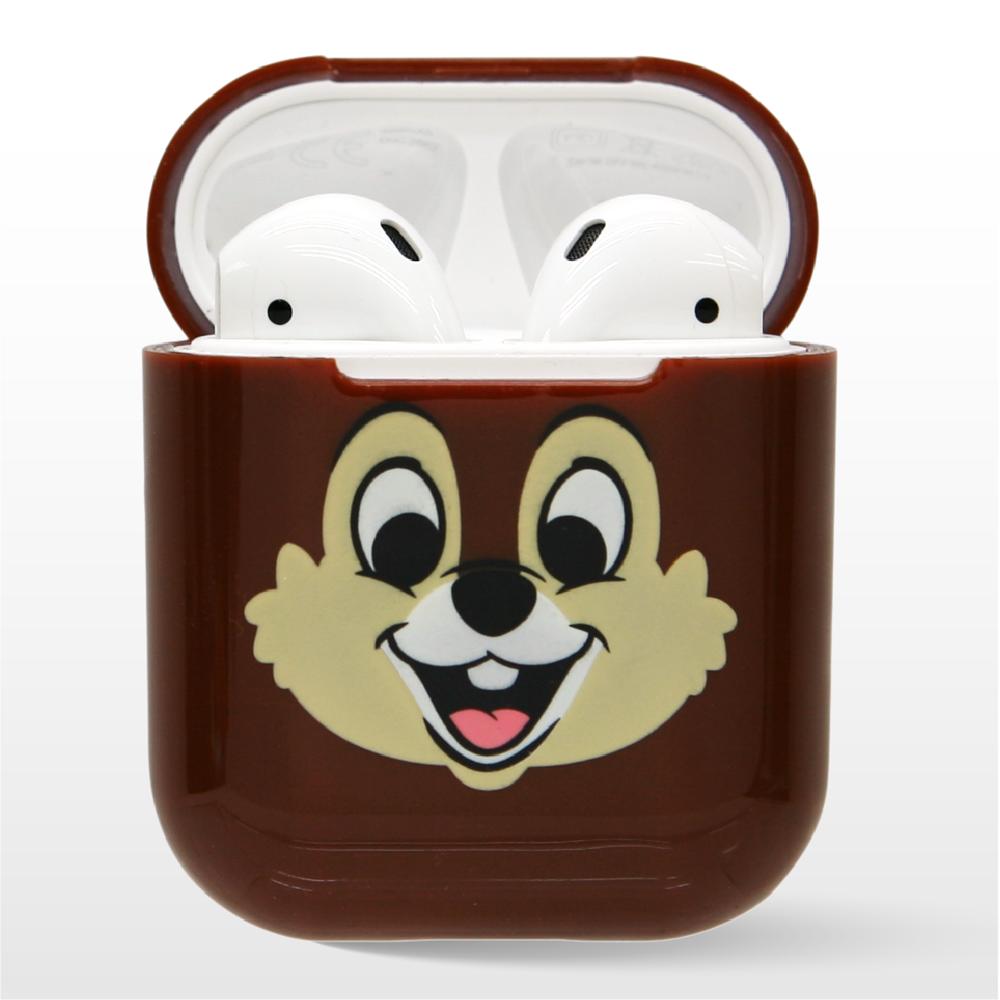迪士尼正版授權 airpods硬式保護套 奇奇與蒂蒂 奇奇款