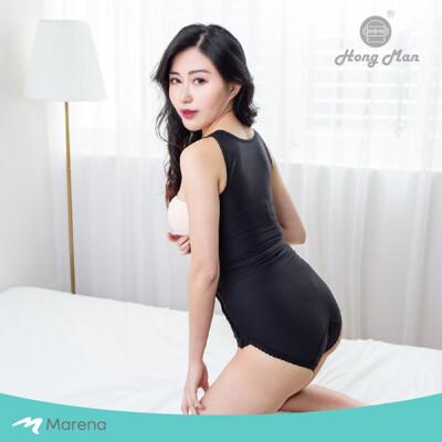 【Marena】強效完美塑形系列 護腰美背比基尼排扣型塑身衣-黑色 (8折)