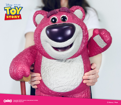 迪士尼正版授權 玩具總動員 15吋 熊抱哥 立體公仔USB LED造型燈 (8.3折)