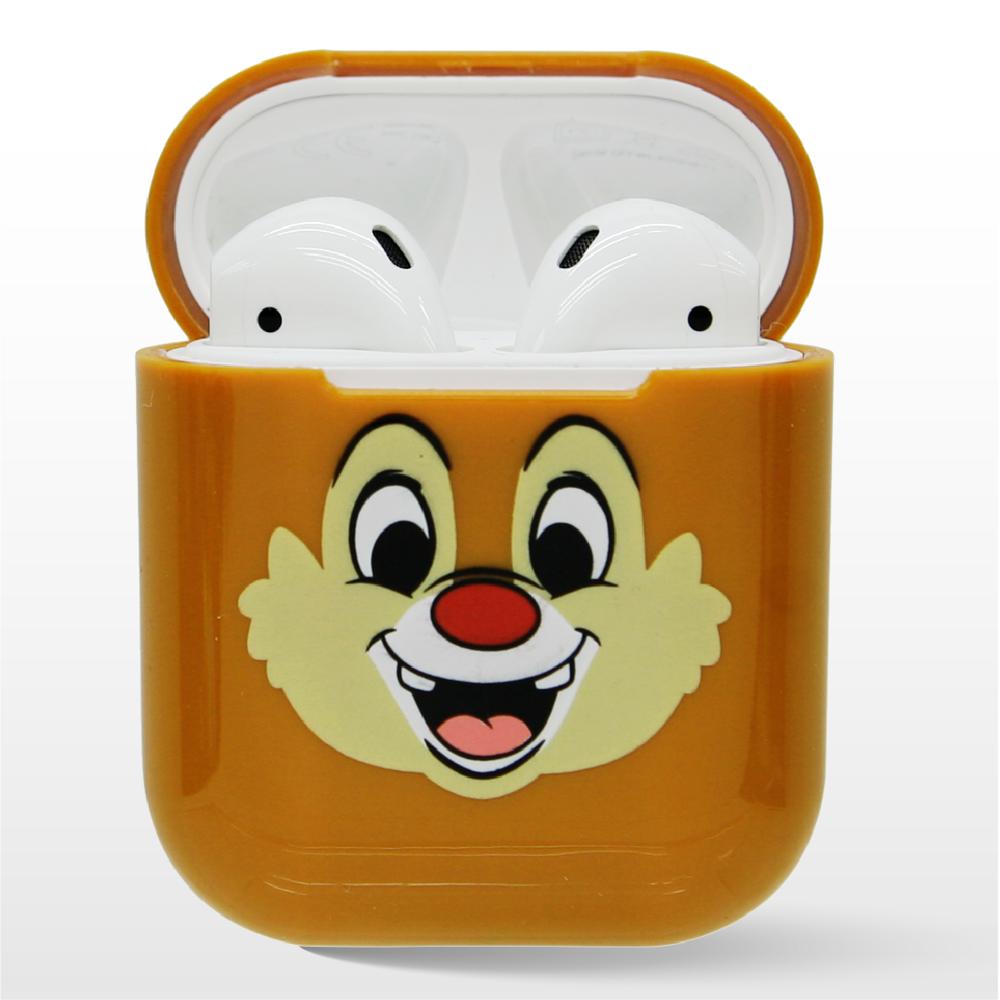 迪士尼正版授權 airpods硬式保護套 奇奇與蒂蒂 蒂蒂款
