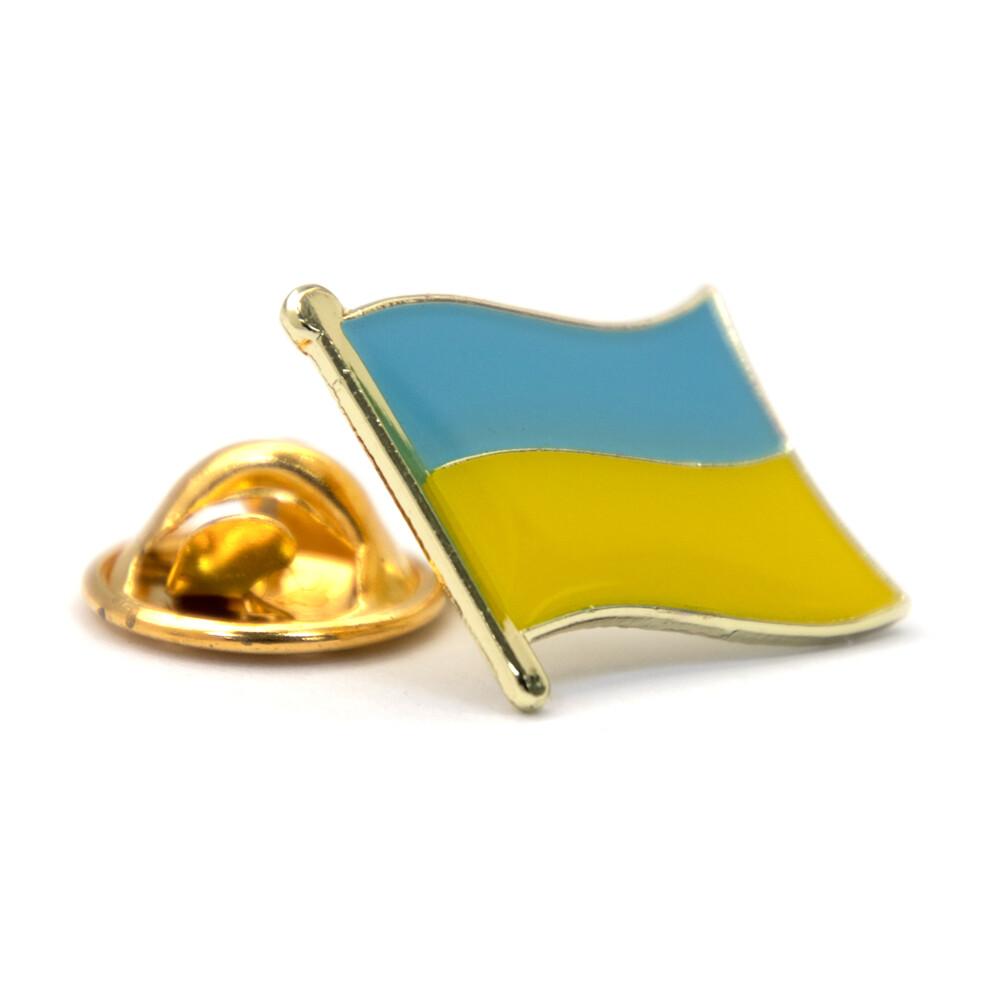 ukraine 烏克蘭 金屬飾品 配飾 別針 送禮 國徽胸章 國旗胸徽 時尚
