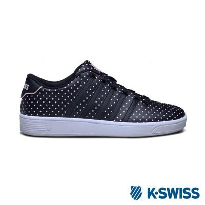 K-Swiss Court Pro II CMFDOTS運動休閒-女鞋-黑 (8.4折)