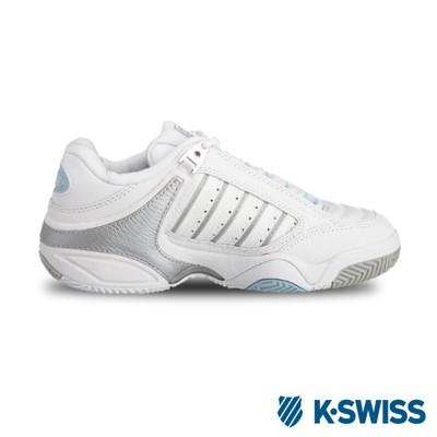 K-Swiss Defier RS專業網球鞋-女-白/銀 (10折)