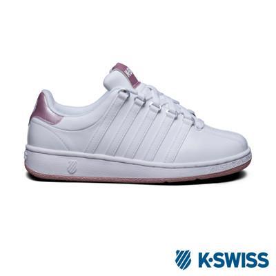 【K-Swiss】Classic VN經典休閒鞋-女 - 白 (7.2折)