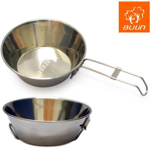 環保餐具 不鏽鋼折疊碗 /附收納袋 (d-10)